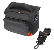 B-01-BK Black Crossbody One-Shoulder Camera Bag for DSLR Camera