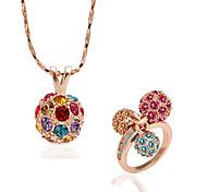 Spherical Diamond Jewelry Set