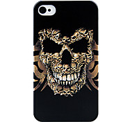 Smiling Face Skull Back Case for iPhone 4/4S