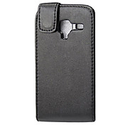 Elegant PU Leather Full Body Flip Case Cover for Samsung I8160 Galaxy Ace 2