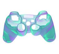 Plastic beschermhoes voor de PS3 Wireless Controllers - Lichtblauw