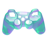 Funda protectora de plástico para PS3 Wireless Controllers - Blue Light