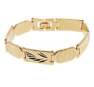 de oro de la señorita rose®men tallado amplia No.148 pulsera
