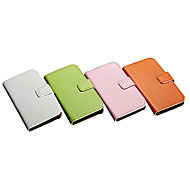 Genuine Leather Wallet Case with Card Holder for Samsung Galaxy S4 I9500