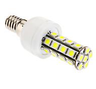 6W E14 LED a pannocchia T 30 SMD 5050 360 lm Luce fredda AC 85-265 V