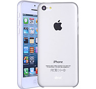 Ultra-thin Style Semi-transparent Hard Case for iPhone 5C(Color Randoms)