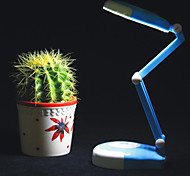 1.3W 24-LED Rechargeable Fold Table/Desk Lamps(Rose & Blue)