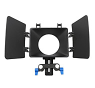 FOTGA DSLR Film Use Filme Matte Box Sombrinha Para 15 milímetros Rail Rod Follow Focus Rig