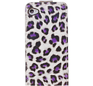 Stylish Leopard Print Pattern Full Body Case for iPhone 4/4S