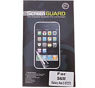 Professionelle Clear Anti-Glare LCD-Display Schutzfolie für Samsung Galaxy Ace S7272 3