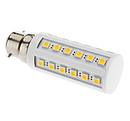 B22 6 W 36 SMD 5050 LM Warm White T Corn Bulbs V