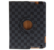 360 Degree Rotating Grid Pattern Protective Case for iPad 2/3/4
