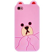 Little Bear Progettato Custodia protettiva per iPhone 4/4S (colori assortiti)