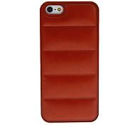 Einfache Design Qualität PU Hard Case für iPhone 5/5S (verschiedene Farben)