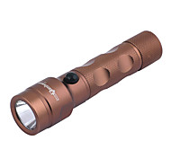 Sirius yeux rechargeables 3-Mode Cree XP-E Q5 LED Flashlight (240LM, 1x18650, Black / Brown)
