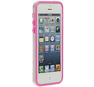 Stylish Light Bumper Frame for iPhone 5C (Assorted Colors)