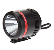 KISR 5-Mode Cree XP-E R3 LED Bicycle Flashlight/Headlamp (350LM, USB Charger, Black+Red)