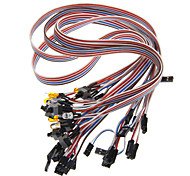 Computer Chassis Switch Cables (50cm / 5 PCS)