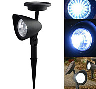 Luz blanca fresca LED Spot Light Paisaje Luz Solar LED