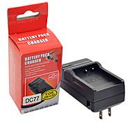 DSTE DC77 Cargador para Sanyo C40 J4 E6 E7 CA6 CA8 CA65 DB-L40A DB-L20A batería
