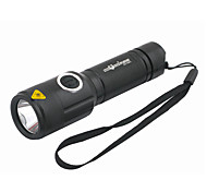 Lights LED Flashlights/Torch / Handheld Flashlights/Torch LED 1000 Lumens 5 Mode Cree XM-L T6 18650 RechargeableCamping/Hiking/Caving /