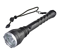SingFire SF-129 Rechargeable 5-Mode Cree XM-L T6 LED Flashlight (800LM, 2x18650, Black)
