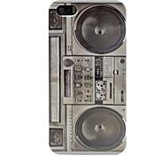 Vintage Radio casete de cinta Registrador cubierta dura del caso para el iphone 5/5s