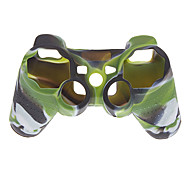 Silicone Case Cover for Sony Playstation3 PS3 Controller (Camouflage Color)