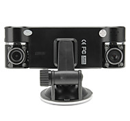F600 8 LED Night Vision 2.7 Inch Screen 180 Degree Rotation Car DVR