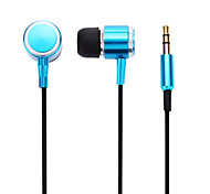3.5mm Stereo In-Ear Earphone for iPhone HTC Galaxy S3/S4 (Orange,Yellow,Blue,Pink)