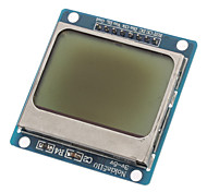 "(For Arduino) Compatible 1.6"" LCD Nokia 5110 Module with Blue Backlit"