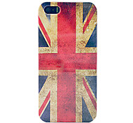 Vintage Union Jack Flag Hard Plastic Case for iPhone 5/5S