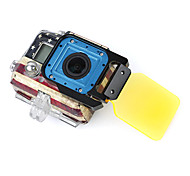 Gopro Accessories Protective Case For Gopro Hero 3 Aluminium Alloy Black / Yellow