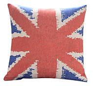 Страна The Union Jack хлопок / лен Подушка декоративная крышка