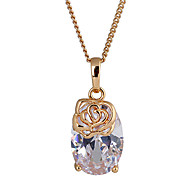 Golden Pendant Necklaces Party / Daily Jewelry