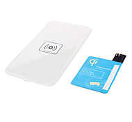 Wireless Charger Pad & Receiver with AWG AC Adapter and Wireless Accept for Samsung Galaxy S4 I9500(White)