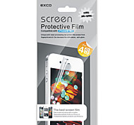 WIM30F EXCO Crystal Clear Screen Protector for iPhone4/4s(Transparent)