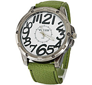 Men's Vintage Green Bronze Silicone Band Analog Quartz Wrist Watch(Assorted Colors) Cool Watch Unique Watch