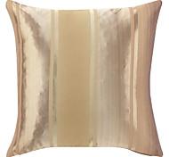"""18 """"Square modern Drucken-goldenen Streifen Dekorative Kissenbezug"""