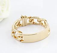 Fashion Alloy Gold Plated Women's Bracelet