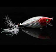 KINGDOM 55mm/5.6G Hard Bait Minnow 0.3-0.6M Floating Fishing Lure (Random Color)