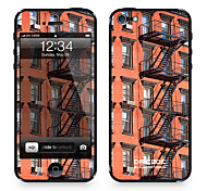 "Da Code ™ Skin for iPhone 5/5S: ""Red Brick Fire Escapes"" (City Series)"