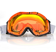 BASTO Snow Googgles Orange Frame Orange Sensor Mirror Lens