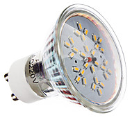Focos LED MR16 GU10 3W 30 SMD 3014 240 LM Blanco Cálido AC 100-240 V
