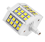 5W R7S LED Spotlight 24 SMD 5050 440 lm Cool White AC 85-265 V