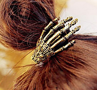 Hand Bone Retro Hair Tie