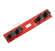 2 Lines Motor Speed Measurement Module for Smart Car Development