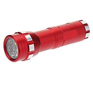 14xLED Mini Flashlight (3xAAA, Red)