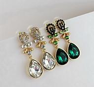 Drop Earrings Women's Alloy Earring Rhinestone