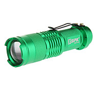 LED Flashlights / Handheld Flashlights LED 1 Mode 240 Lumens 5mm Lamp AA Everyday Use - Sipik , Green Aluminum alloy